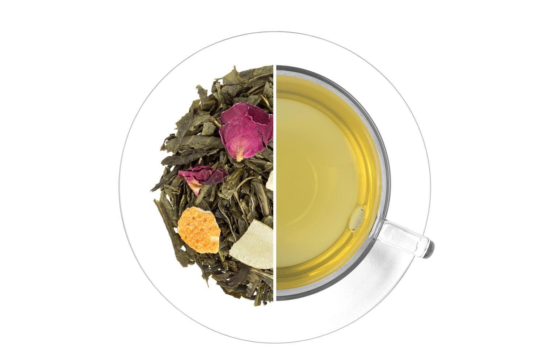 Vánoční čaj - zelený,aromatizovaný 1 kg