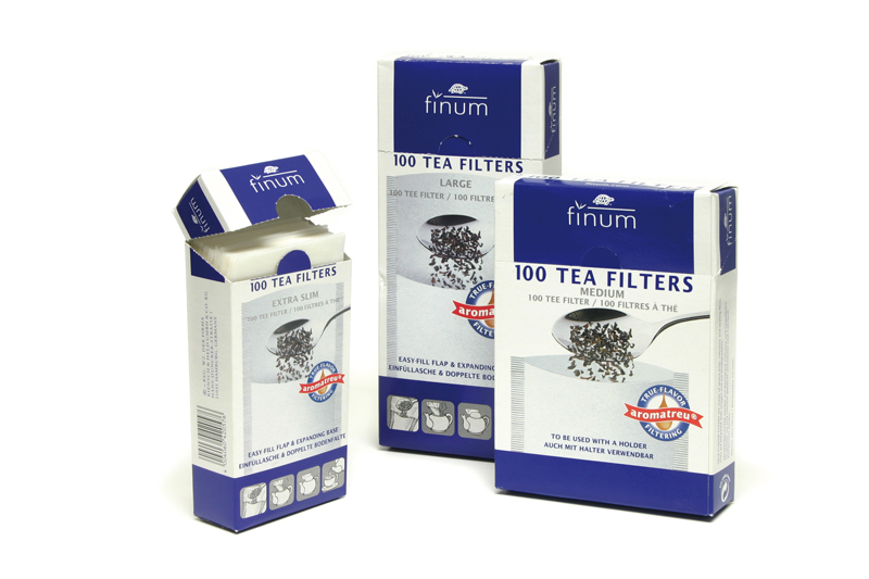 Paper Filter - with an easy-fill flap; pack of 100pcs; size L