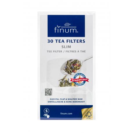 Teefilter aus Papier ohne Falz. Größe S, 30 Stück