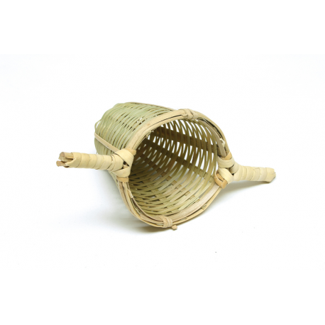 Bambusové sitko s 2 držiaky