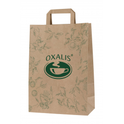 Oxalis Paper Shopping Bag - small