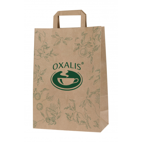 Papírová taška OXALIS - malá