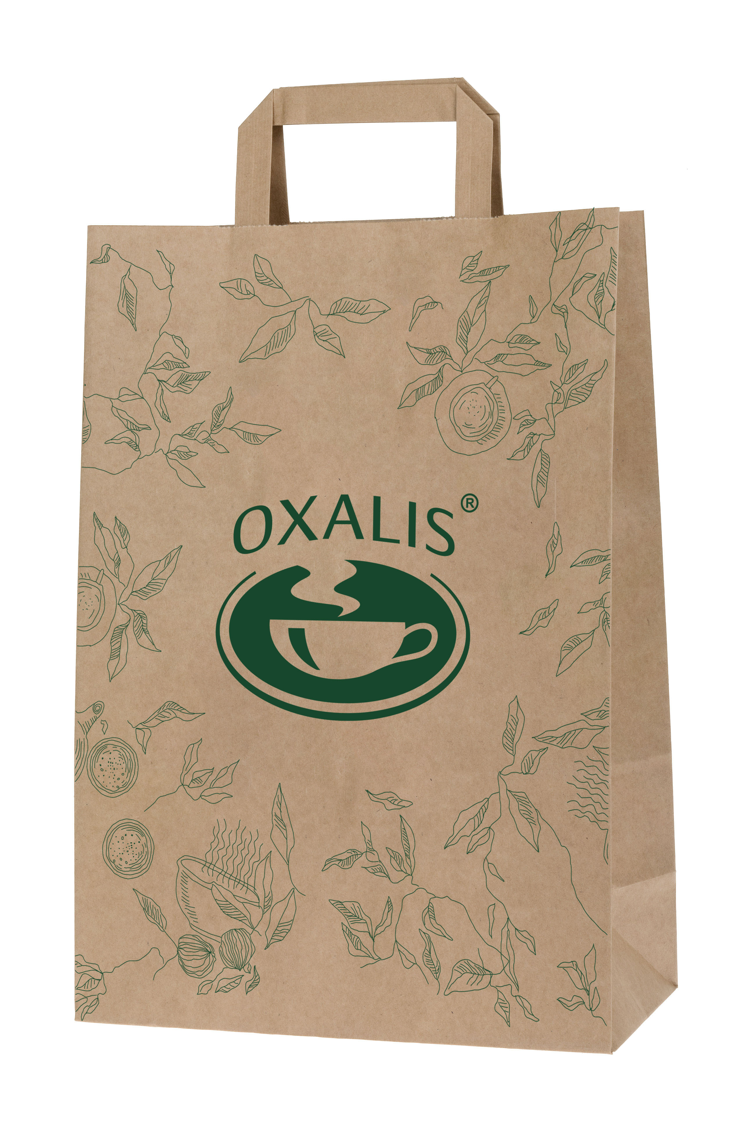 Oxalis Paper Shopping Bag - small