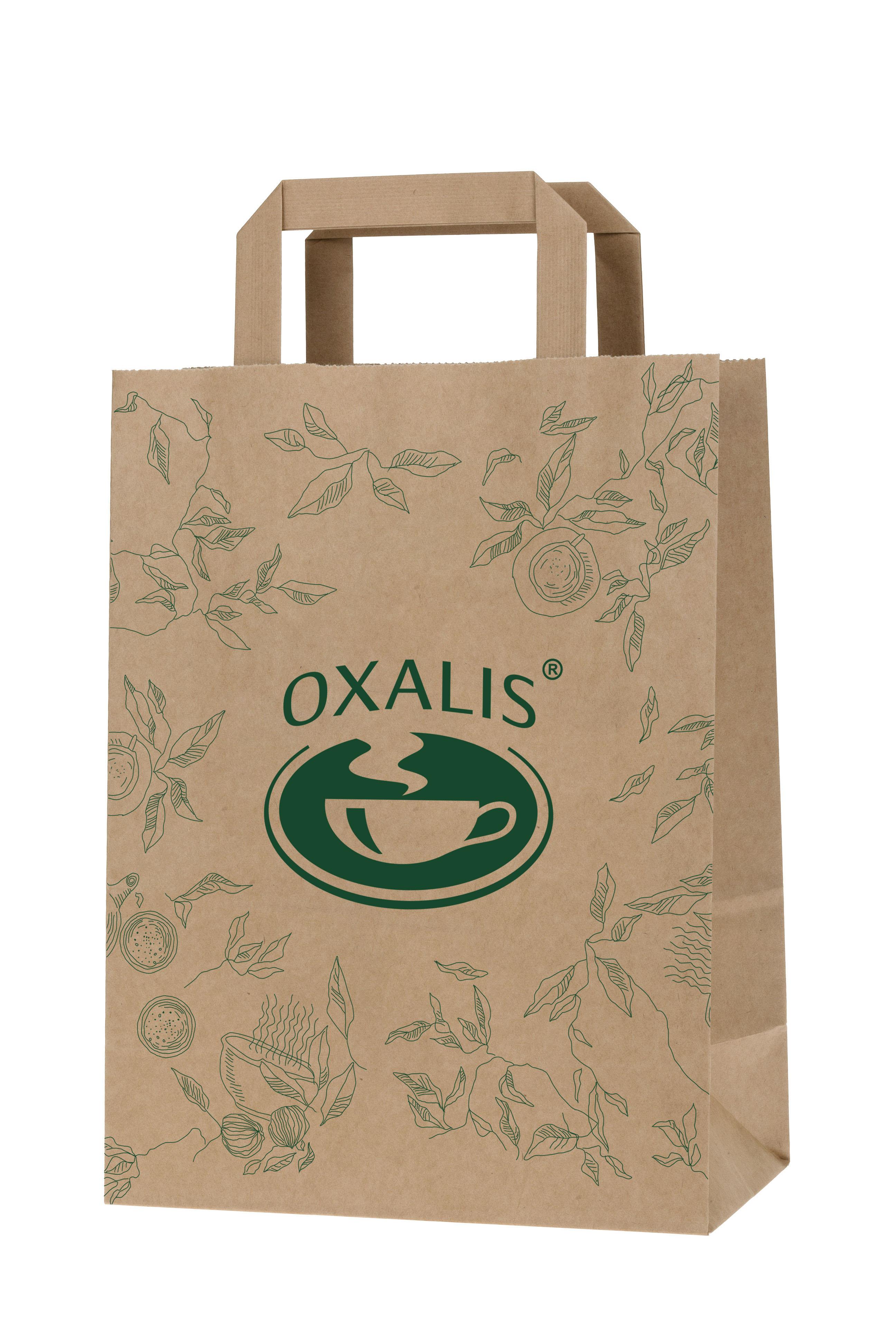 Oxalis Paper Shopping Bag - large