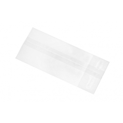 Cellophane bag 50 g, 8 x 16 cm, flat bottom
