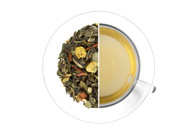 Čaj cisárov - zelený,aromatizovaný 1 kg