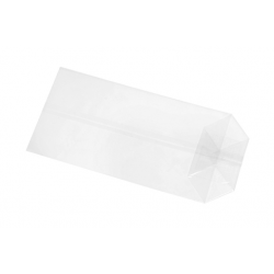 Cellophane bag 500 g, 20 x 35 x 8 cm, cross bottom
