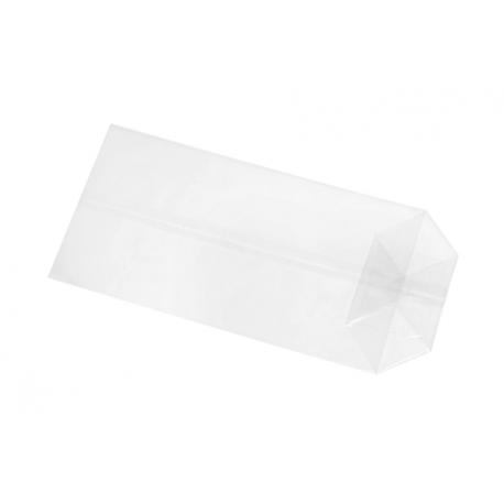 Cellophane bag 500 g, 20 x 35 x 8 cm, cross bottom