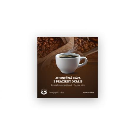 Flugblatt Kaffee