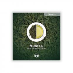 Green tea leaflet