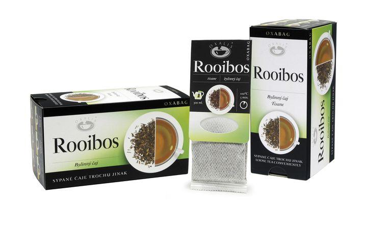 Rooibos červený - OXABAG (10 vrecúšok x 4g)