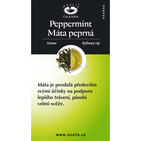 Peppermint paper card