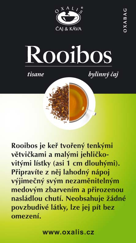 Rooibos paper card