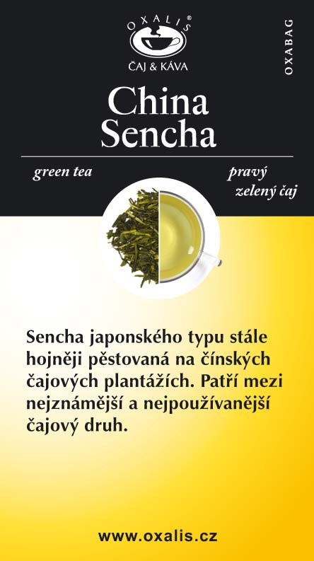 China Sencha paper card