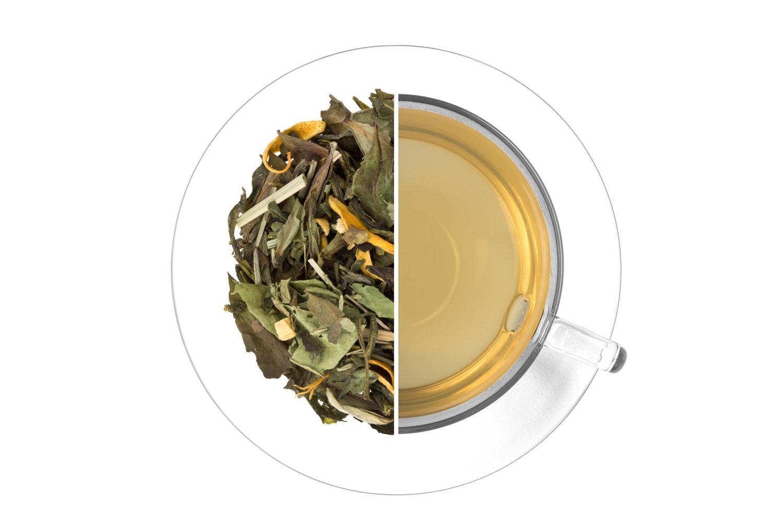 Ledový čaj Citrus - zázvor - bílý,aromatizovaný 1 kg