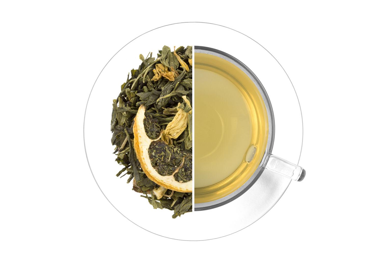 Ledový čaj Limeta - aloe - zelený,aromatizovaný 1 kg