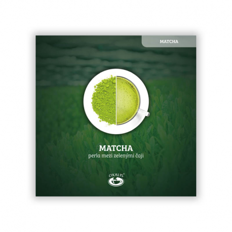 Flugblatt Matcha