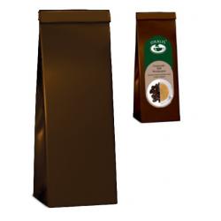 Sáček třívrstvý - hnědý na kávu 50 - 100g