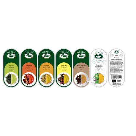 Farebná etiketa - párová k čaju / káve