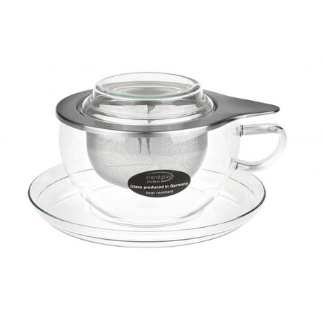 Levně BEATA - čajový šálek skleněný 0,4 l - S