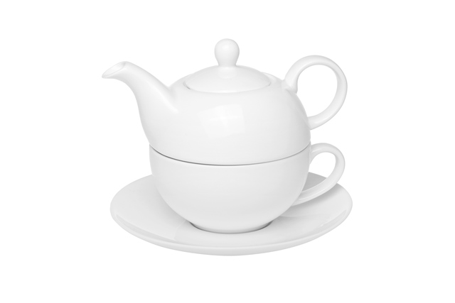 Phillip - fine bone china tea set for one