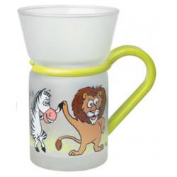 Animal Party - glass mug 0.25 l