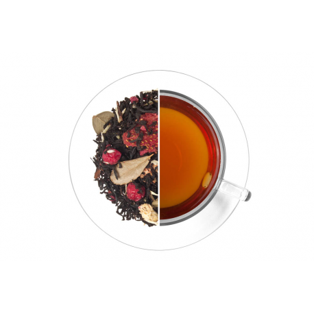 Červené plody - čierny, aromatizovaný 1 kg