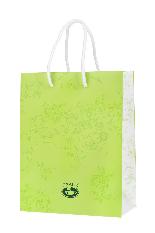 OXALIS gift bag - green