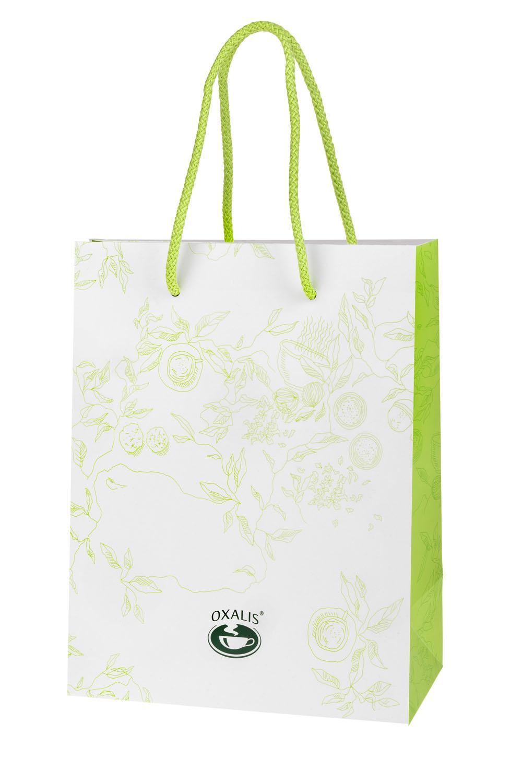 OXALIS gift bag - white