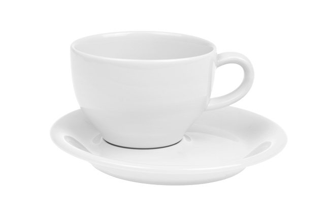 Luka latte cup and saucer 0.23 l
