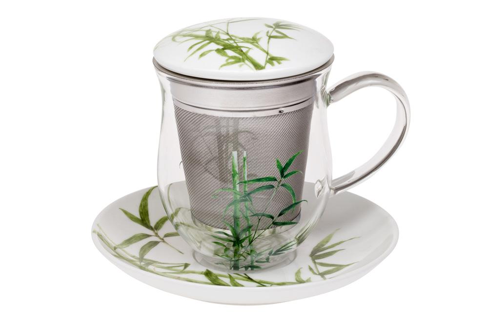 Midori - glass mug 0.35 l