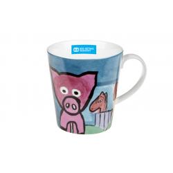 Piggy - porcelain mug 0.3 l