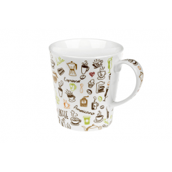 Coffee Variety - porcelain mug 0.3 l