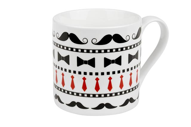 Gentleman - porcelain mug 0.33 l