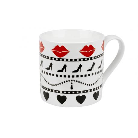 Lady - porcelain mug 0.33 l