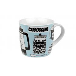 Blue Coffee Break - porcelain mug 0.3 l