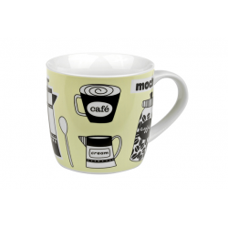 Green Coffee Break - porcelain mug 0.3 l