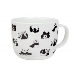 Panda 0,75 l - porcelánový hrnček