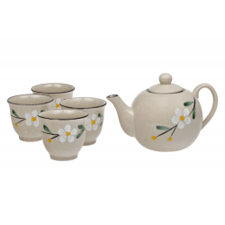 Gobi - porcelain tea set