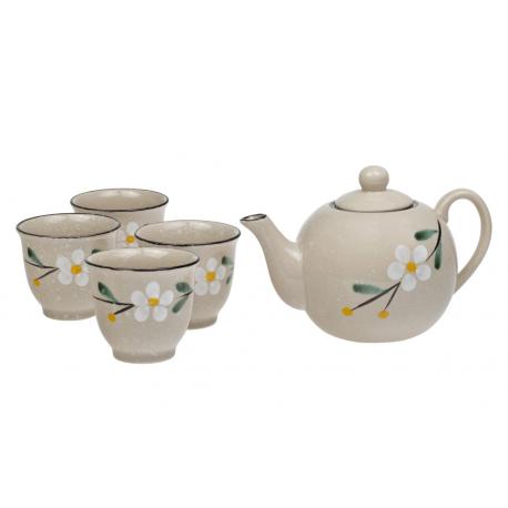 Gobi - porcelain tea set