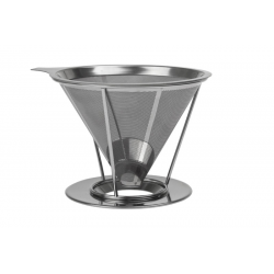 Coffee Dripper - stainless steel coffee holder