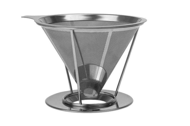 Coffee Dripper - stainless steel coffee holder