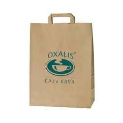 Oxalis Paper Shopping Bag - XXL