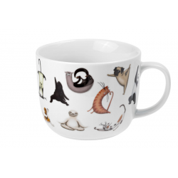 Wildlife Wellness - porcelain mug 0.75 l
