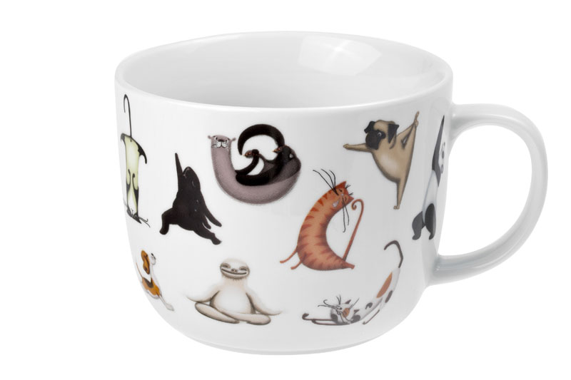 Wildlife Wellness - porcelain mug 0.75 l