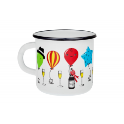 Party 0.35 l - enamelware mug