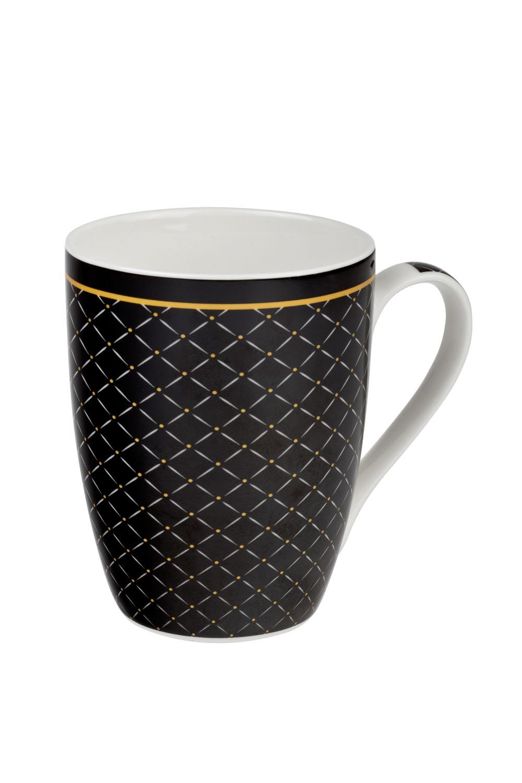 Mystic černý 0,34 l - porcelánový hrnek