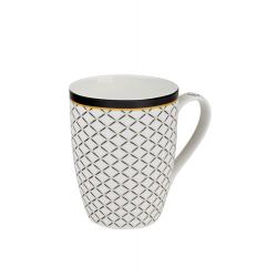 Mystic biely 0,34 l - porcelánový hrnček