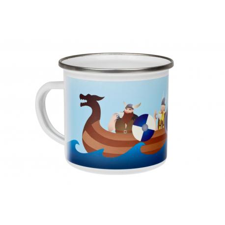 Vikings 0.35 l - enamelware mug