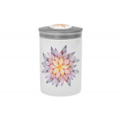 Mandala naděje - porcelánová dóza s víčkem
